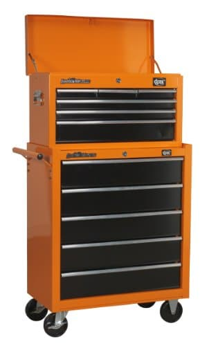 Apprentice Mechanic's Tool Kit - DJM 6 Drawer Top Box Tool Chest & 5 Drawer Roller Cab Cabinet Tool Box
