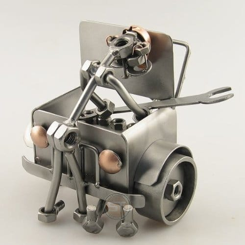 Mechanic metal figure gift